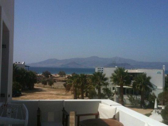 Perla Hotel: dal balcone