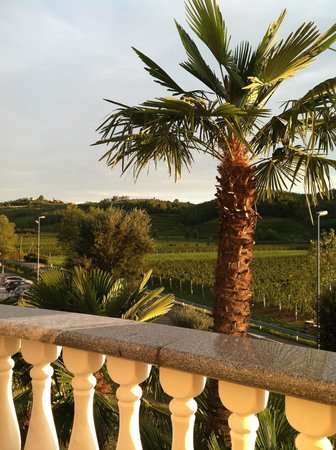 Hotel Venko view from balacony