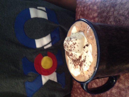 Lucile's Restaurant: House made hot chocolate
