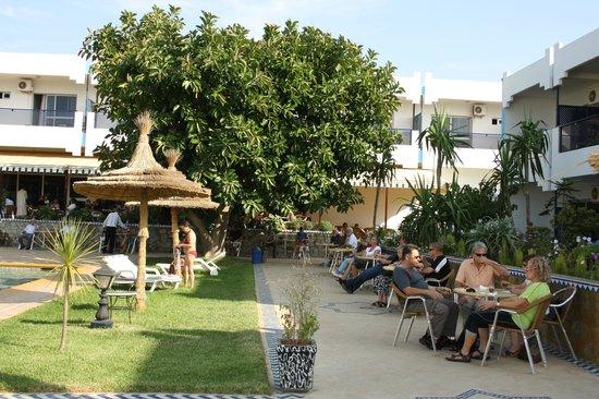 Hotel Al Khaima: la terrasse