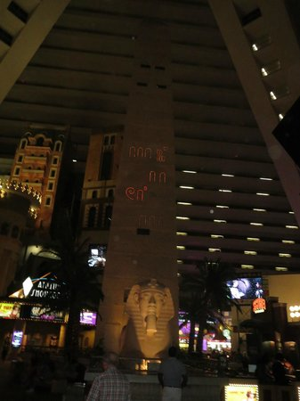 View Inside The Pyramid Picture Of Luxor Hotel Casino Las Vegas