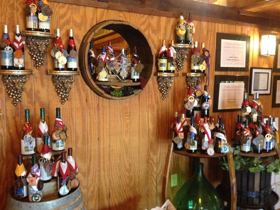 Silver Coast Winery: Their awards