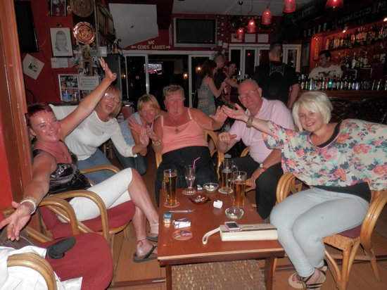 The Red Lion : With great people