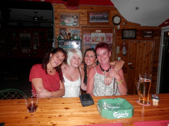 The Red Lion : Lovely Sofia and Shirley