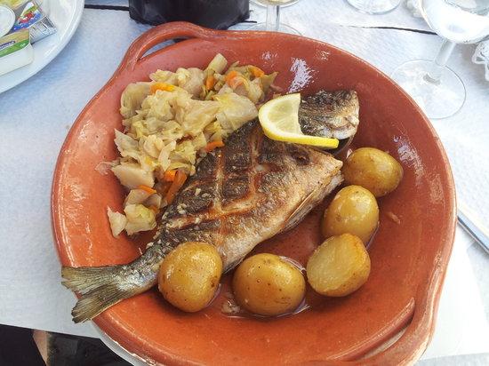 Restaurante Salmao: Dourada grelhada - underbart god