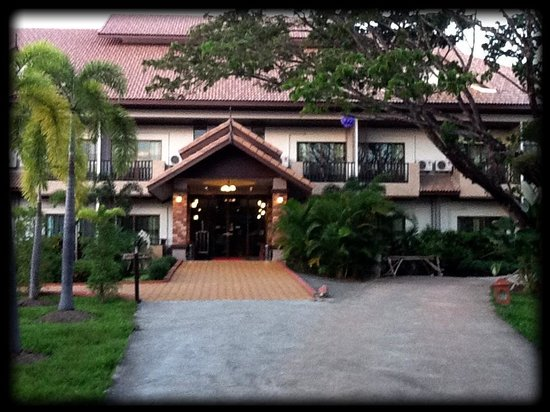Kong Garden View Resort Chiang Rai : Front entrance