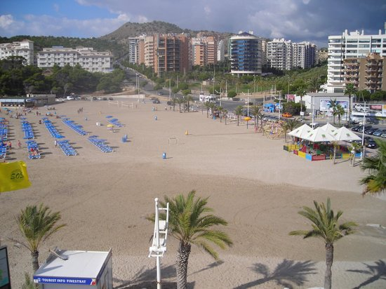 Hotel La Cala: Balcony view.