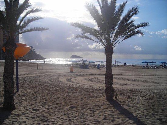 Hotel La Cala: The beach.