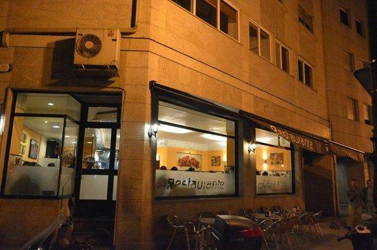 Follas Novas: El restaurante