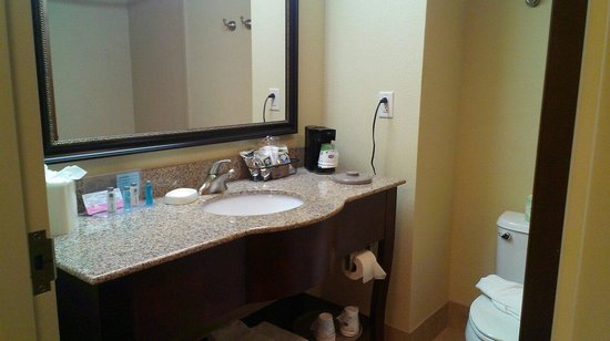 Hampton Inn Chattanooga-North/Ooltewah: Clean bathroom
