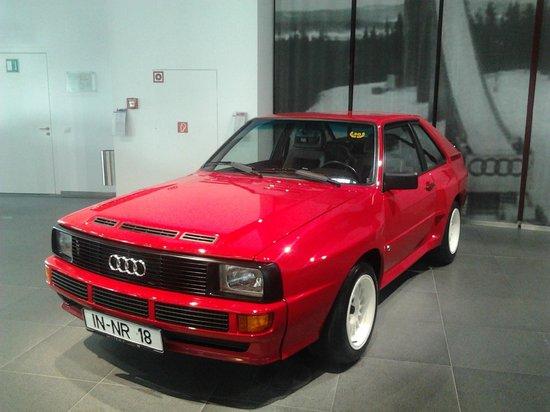 Audi Museum: audi quattro sport