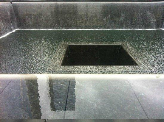 Infinity pool 2 picture of 911 ground zero tour new - Ground zero pools ...