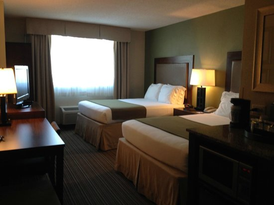Holiday Inn Express Hotel & Suites Fort Worth Downtown: Comfortable Room