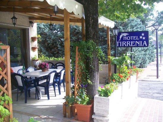 Hotel Tirrenia: L'ingresso dell'hotel.