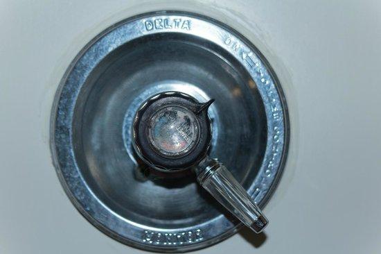 Econo Lodge Buckley: dirty faucet handle