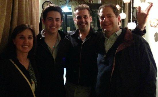 Paris Boheme Bistrot  Cucina Autentica: Luis and us after dinner