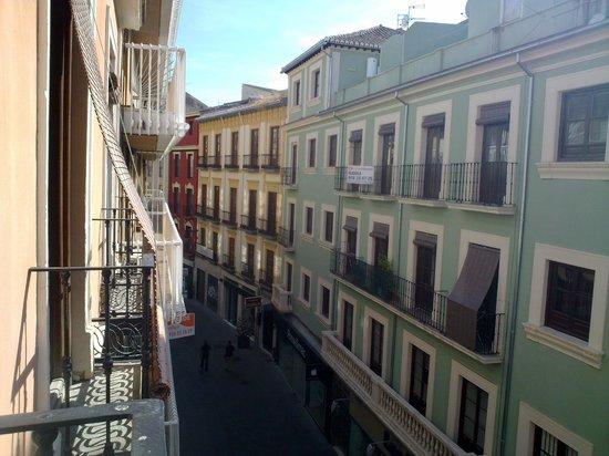 Las Nieves Hotel: vistas desde el balcon