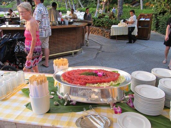 Kohala Coast, Hawái: Tuna Sashimi