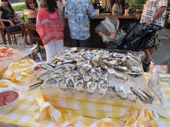 Kohala Coast, Hawaje: Oysters