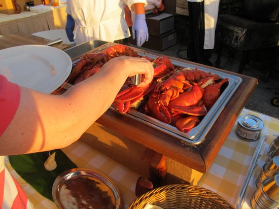 Kohala Coast, HI: Lobster Buffet