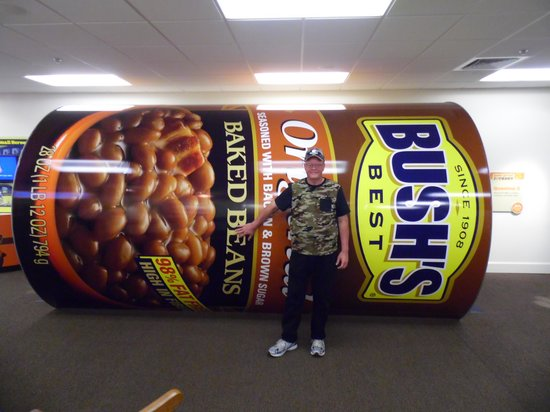 Bush's Beans Visitor Center: now that's a can of beans