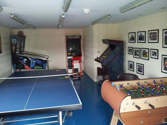 Hill Top Farm, Askrigg: Games room