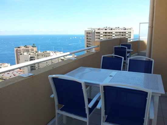 Appart'hôtel Odalys Les Jardins d'Elisa: La terrasse du 5ème étage