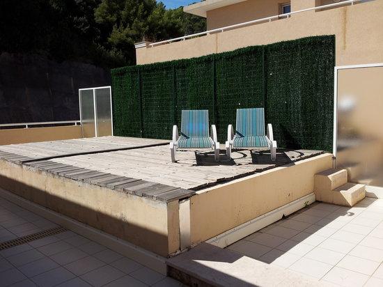 Appart'hôtel Odalys Les Jardins d'Elisa: le solarium