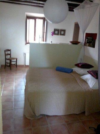 Cal Mestre: habitacion doble con terraza