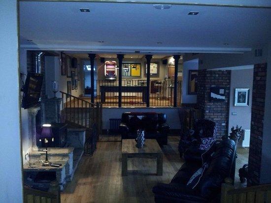 Hill Top Farm, Askrigg: Living room