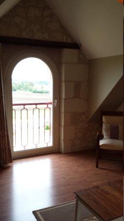 Domaine de la Maison Neuve: Our room