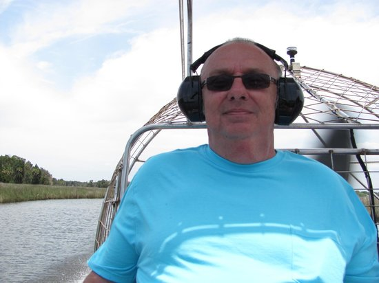 River Safaris And Gulf Charters: On the airboat