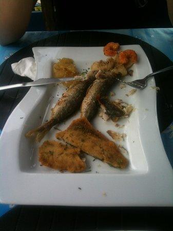 Los Geranios: Frittura di pesce