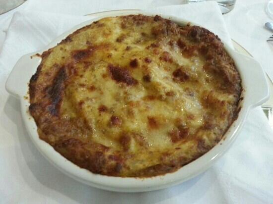Alfredo di Roma: lasagna bolognese