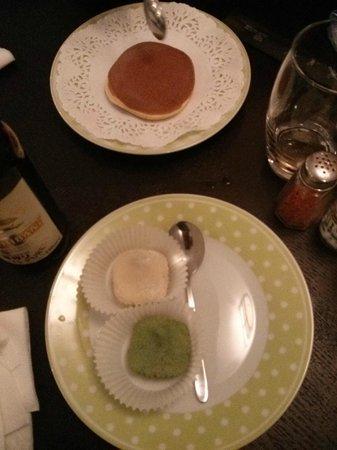 Ippoudo Ramen : Dessert au thé vert et haricots rouges