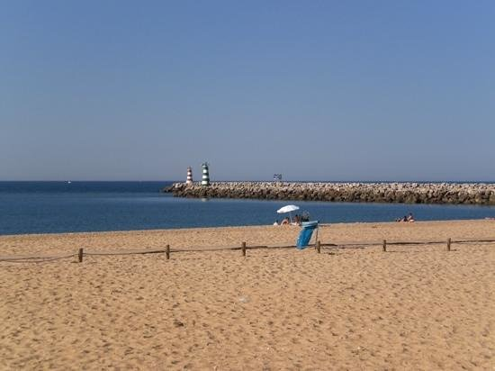 Dom Pedro Marina: Local beach