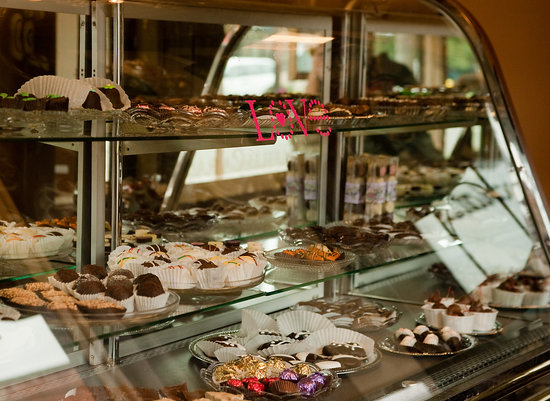 Silverton, OR: Our Chocolate Display