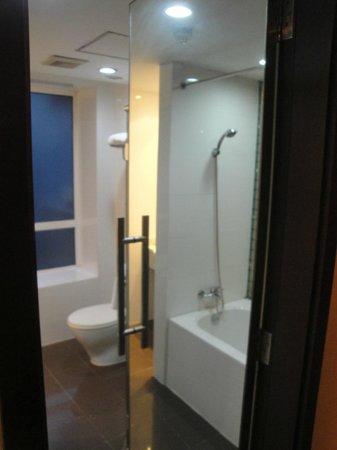 Rayfont Shanghai Nanpu Hotel: banheiro 2