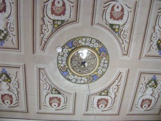 The Fauzi Azar Inn: painted ceiling