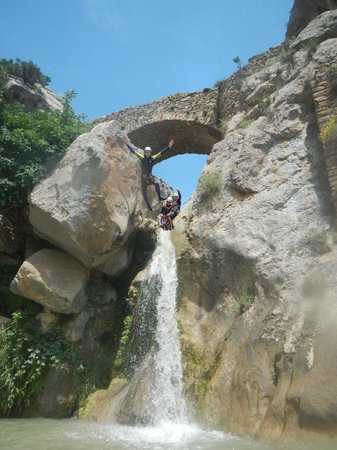 Canyoning with Explora Guies