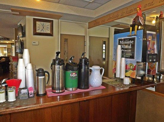 Travelodge by Wyndham Kalispell: Beverage Bar