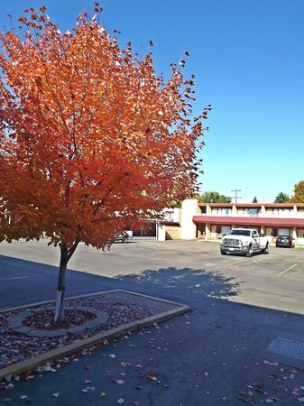 Travelodge by Wyndham Kalispell: Parking Area