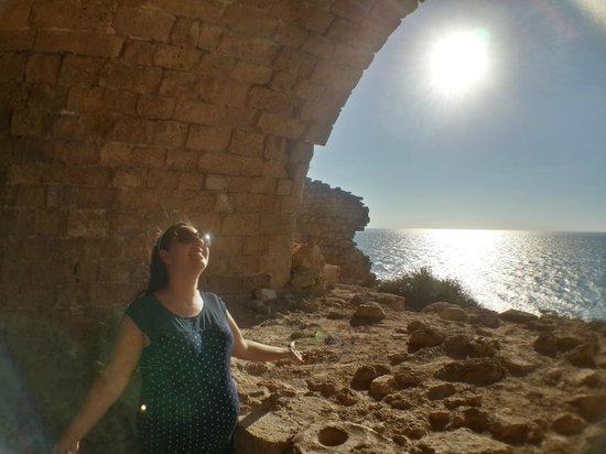 Apollonia National Park: happy window