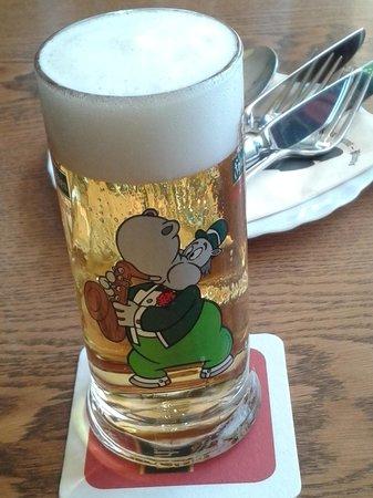Pfunds Cafe Restaurant: particolare bicchiere