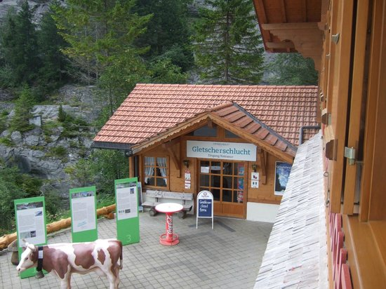 Gletscherschlucht: Crystal Museum