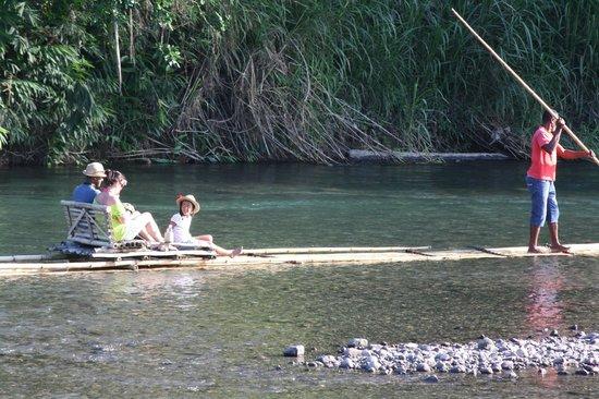 Jamaica Xplored: Rafting on the Rio Grande, Portland...
