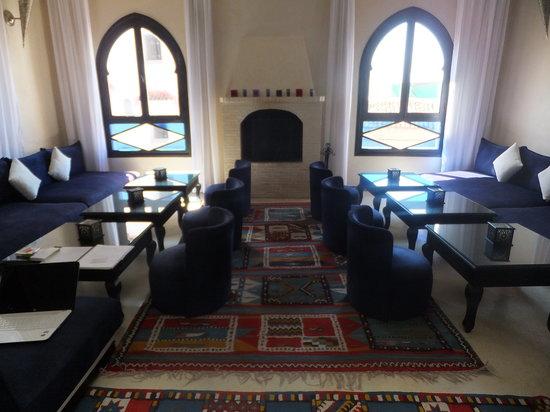 Lina Ryad & Spa : Recepçao, sala de estar e restaurante.