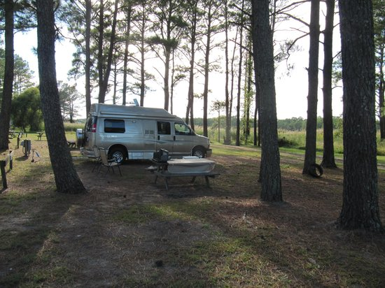 Maddox Family Campground: Peaceful under the trees