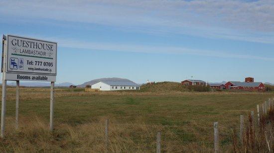 Lambastadir Guesthouse: Farm and guesthouse