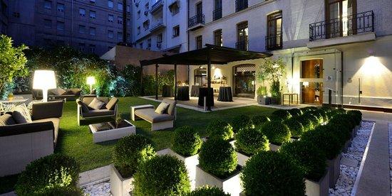 Hotel Unico Madrid: Garden